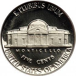 Nickel 1956 Large Reverse Coin