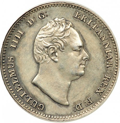 Groat Obverse Image minted in UNITED KINGDOM in 1836 (1830-37 - William IV)  - The Coin Database