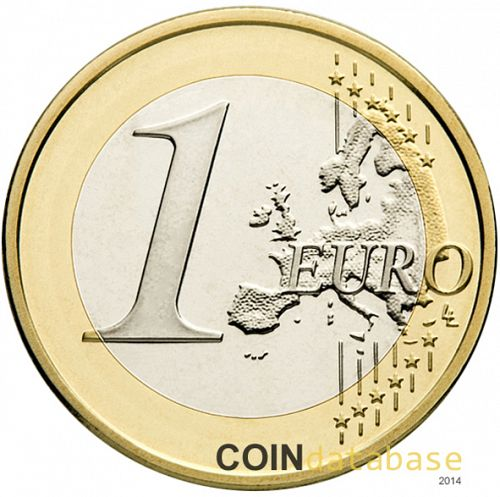 1 € Reverse Image minted in SLOVAKIA in 2014 (1st Series)  - The Coin Database