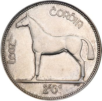 2s6d - Half Crown Reverse Image minted in IRELAND in 1928 (1921-37 - Irish Free State)  - The Coin Database