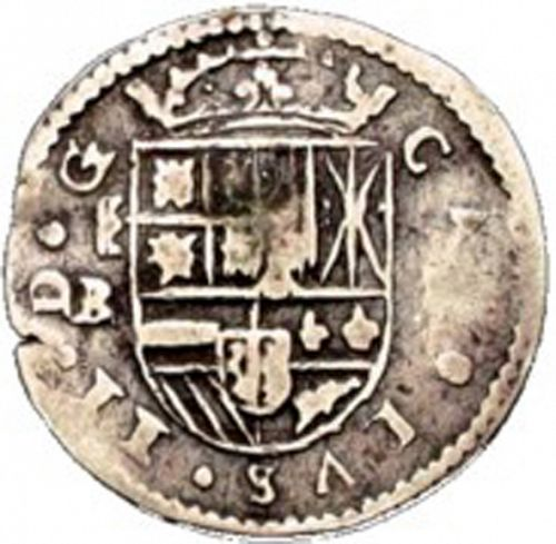 1 Real Obverse Image minted in SPAIN in 1684BR (1665-00  -  CARLOS II)  - The Coin Database