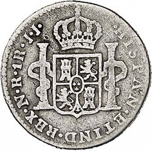 1 Real Reverse Image minted in SPAIN in 1776JJ (1759-88  -  CARLOS III)  - The Coin Database