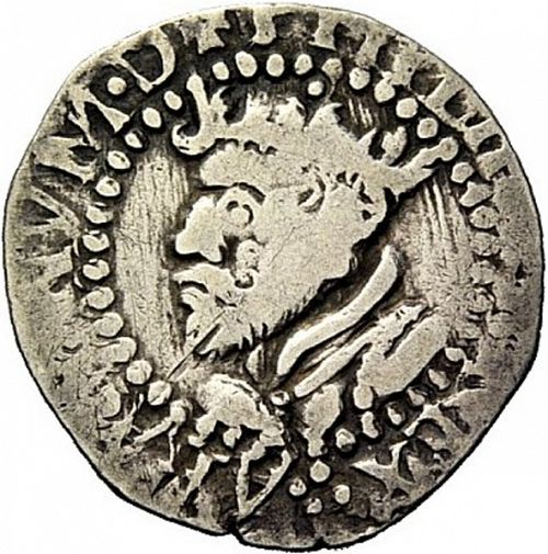 1 Real Obverse Image minted in SPAIN in N/D (1621-65  -  FELIPE IV)  - The Coin Database