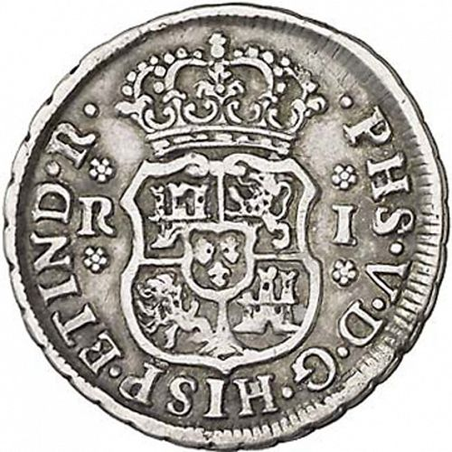 1 Real Obverse Image minted in SPAIN in 1742M (1700-46  -  FELIPE V)  - The Coin Database
