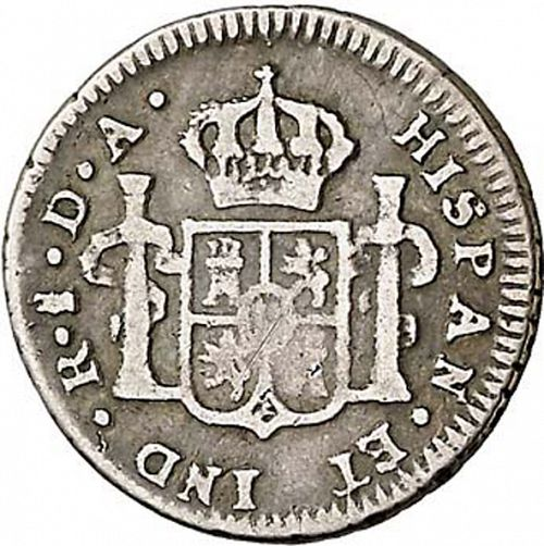 half Real Reverse Image minted in SPAIN in 1779DA (1759-88  -  CARLOS III)  - The Coin Database