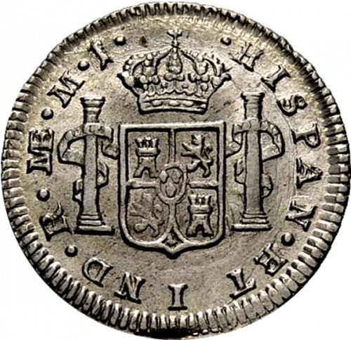 half Real Reverse Image minted in SPAIN in 1779MJ (1759-88  -  CARLOS III)  - The Coin Database