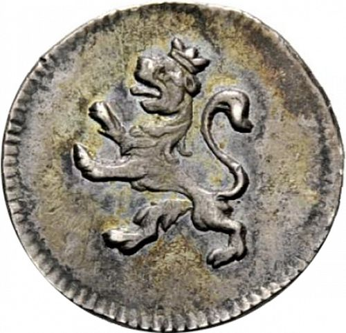 1/4 Real Reverse Image minted in SPAIN in 1817 (1808-33  -  FERNANDO VII)  - The Coin Database