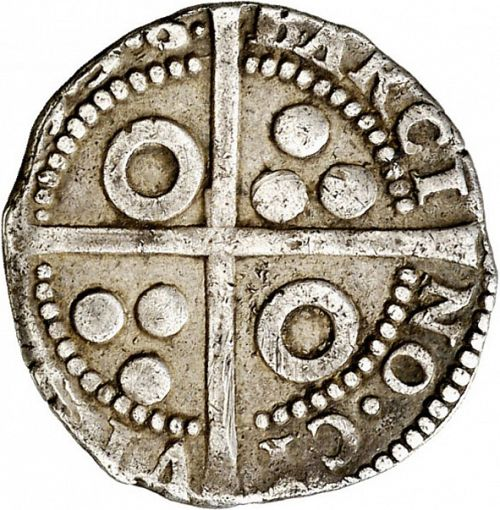 1 Croat Reverse Image minted in SPAIN in 1598 (1556-98  -  FELIPE II - Local Coinage)  - The Coin Database