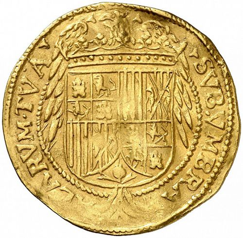 1 Trentin Reverse Image minted in SPAIN in N/D (1598-21  -  FELIPE III - Local Coinage)  - The Coin Database
