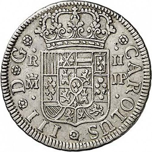 2 Reales Obverse Image minted in SPAIN in 1762JP (1759-88  -  CARLOS III)  - The Coin Database