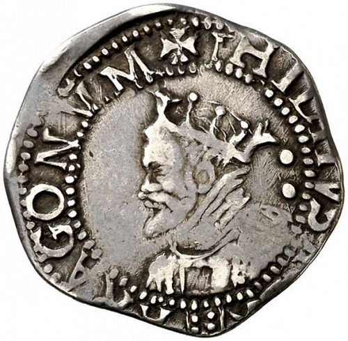 2 Reales Obverse Image minted in SPAIN in N/D (1598-21  -  FELIPE III)  - The Coin Database