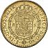 Reverse thumbnail for 8 Escudos from 1792DA